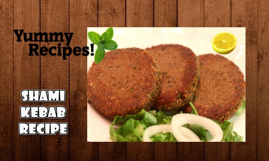 Shami Kebab Recipe - How To Make  Shami Kebab