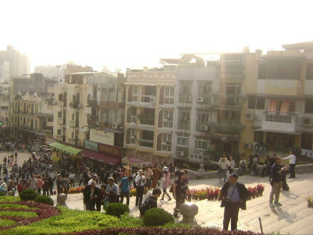 Macau China Ruins of St. Paul