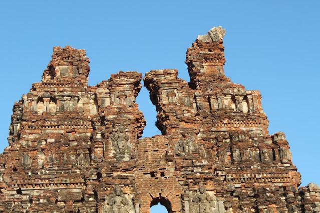 The ruined Gopura of Vitthala Temple