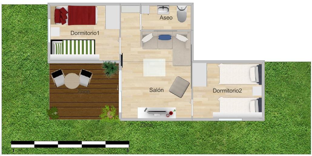 Fábrica de paraisos: Convierte tu patio en una habitación de invitados