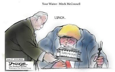 Cartoon by Jeff Danziger