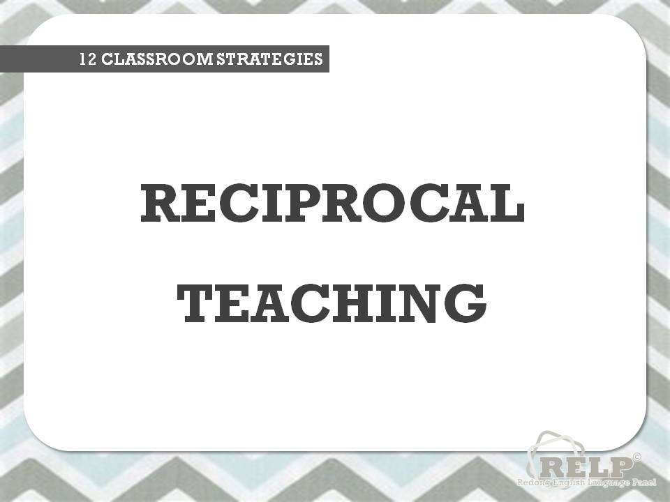 PEDAGOGY FOR TEACHERS SERIES: 12 CLASSROOM STRATEGIES TO