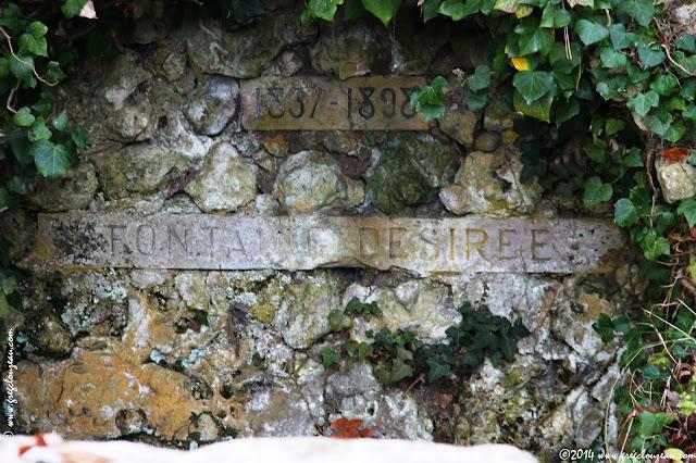 La fontaine Désirée, sentier bleu n°2, Fontainebleau, (C) 2014 Greg Clouzeau
