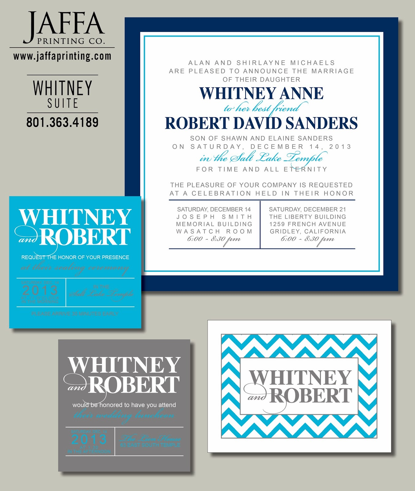 Wedding Invitation Blog: Winter Wedding Invitations