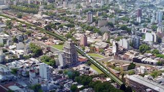 Anunciaron la construcción del viaducto de la linea San Martín