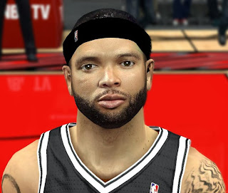 NBA 2K14 Deron Williams Cyberface Mod