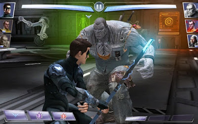 saya akan menyebarkan game seru di android ialah Injustice Android Injustice Gods Among Us v2.16.1 MOD APK (Unlimited Money)