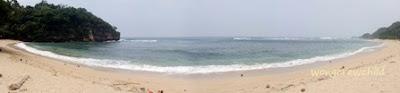 lokasi pantai pasir panjang ngliyep malang