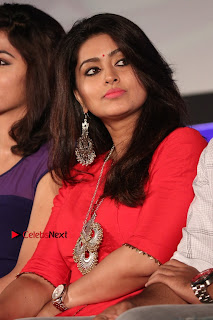 Actress Sneha Latest Stills in Red Dress at Simba Audio Launch  0015.jpg