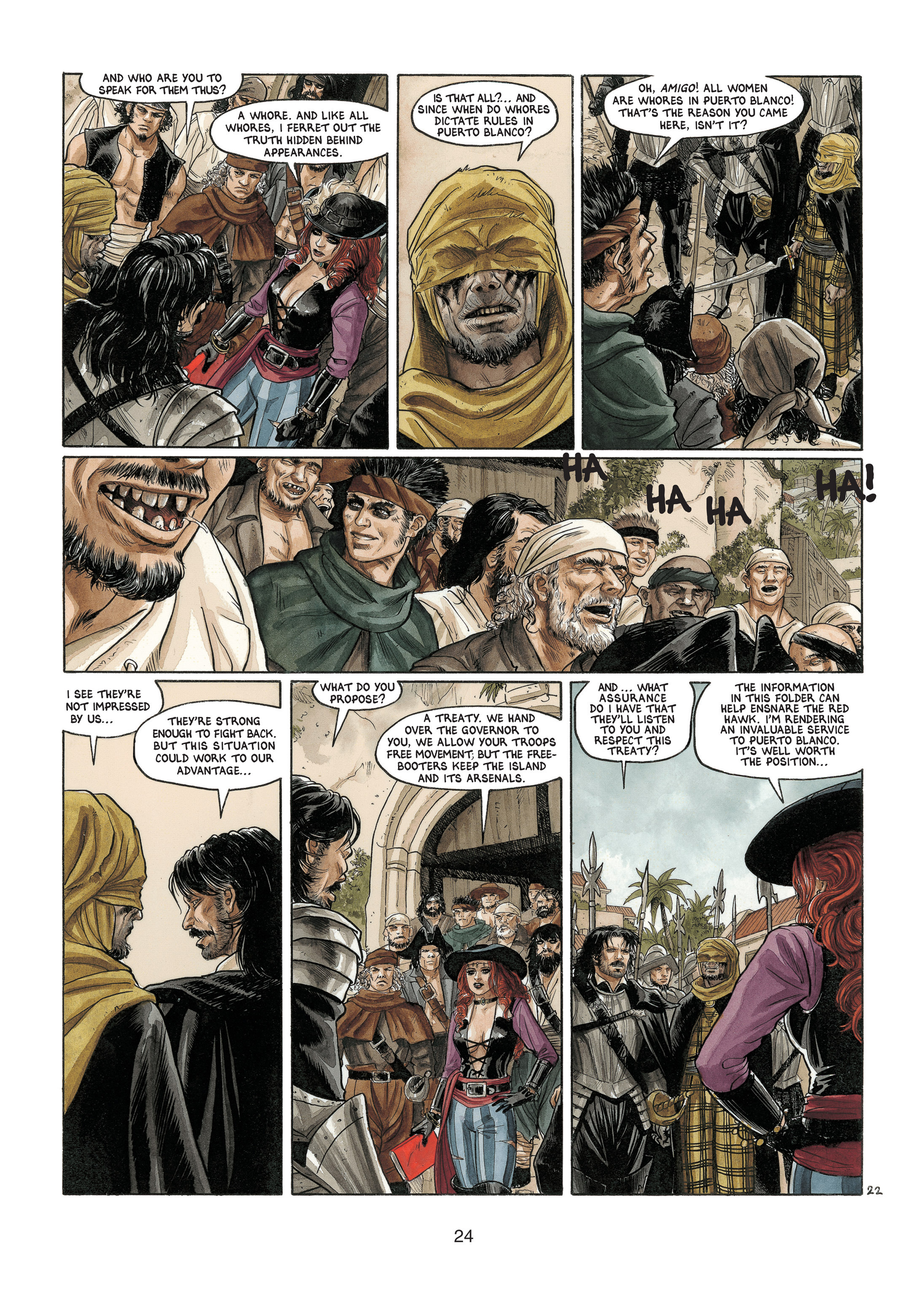 Read online Barracuda comic -  Issue #4 - 25
