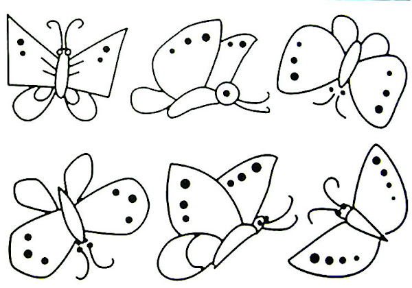 color by number butterfly coloring page coloring download