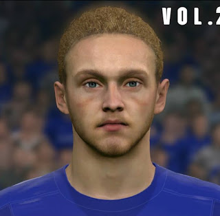 PES 2017 Faces Tom Davies by Sameh Momen
