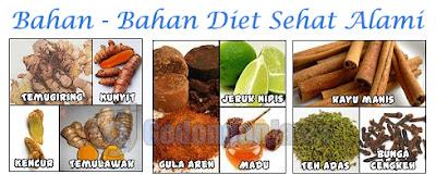 Bahan alami untuk diet sehat