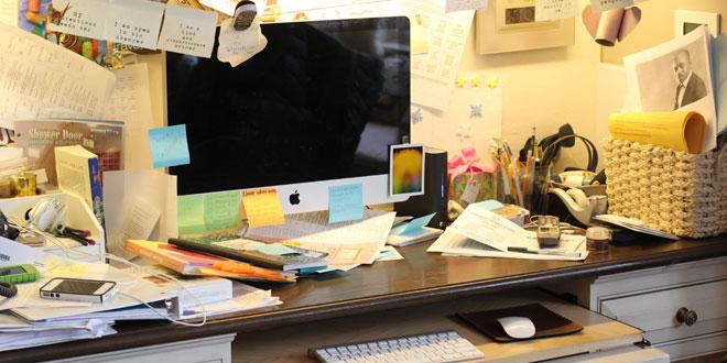 Cara Membuat Meja kerja agar sehat