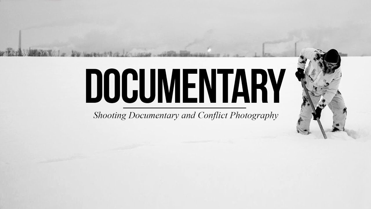 Getting Started in Documentary and Conflict Photography (feat. Ondrej Vachek)