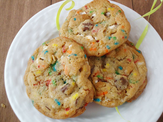 birthday cake s'mores cookies| www.blahnikbaker.com