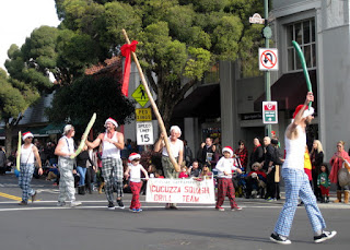 Cucuzza Squash Drill Team, S. Santa Cruz Avenue, Los Gatos, California