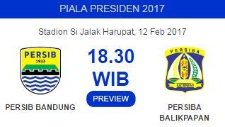 Persib Bandung vs Persiba Balikpapan 12 Februari 2017 Bakal Seru