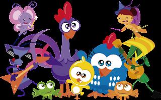 Baixar vetor turma da Galinha Pintadinha mini para Illustrator gratis