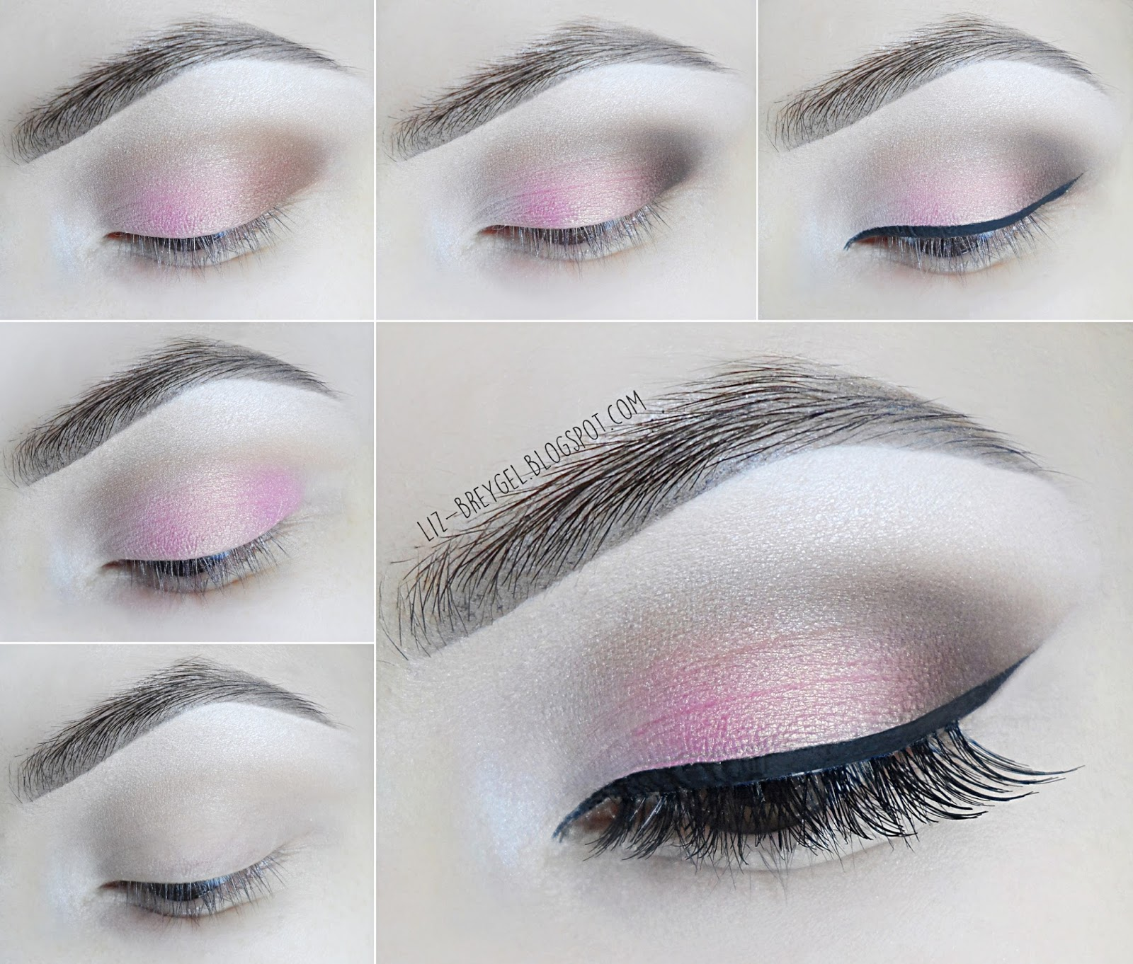 makeup everyday bridal soft smoky smokey brown eyes tutorial setp by step blogger
