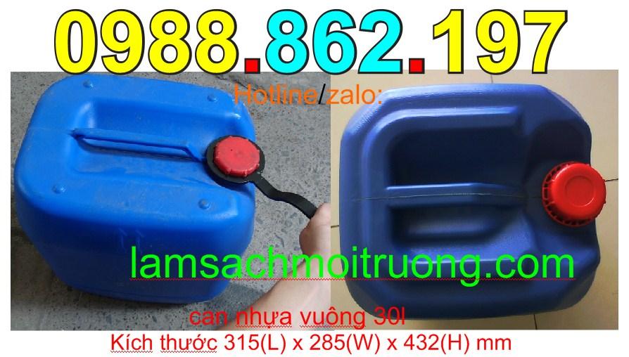 www.123nhanh.com: Can nhựa, can vuông, can nhựa vuông 30l, can nhựa đựng h