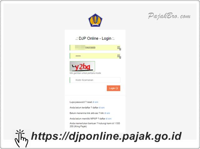 e-Filing DJP Online Tidak Bisa Diakses