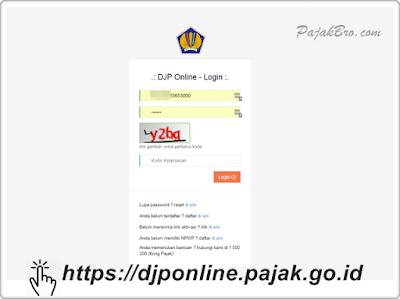e-Filing DJP Online Tidak Bisa Diakses 2021