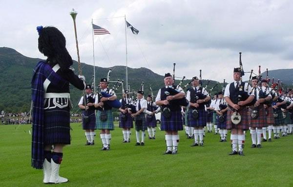 Highland Games de Newtonmore, Escocia