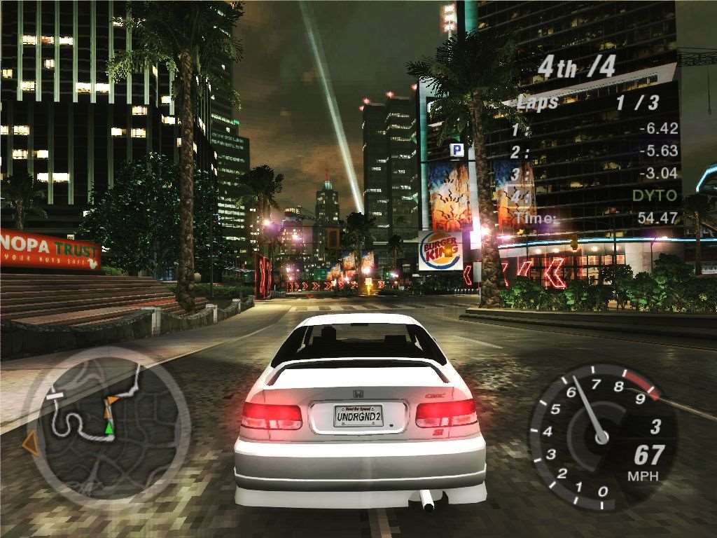 Need For Speed Underground REPACK - 243 Mb | REPACK GAME DL