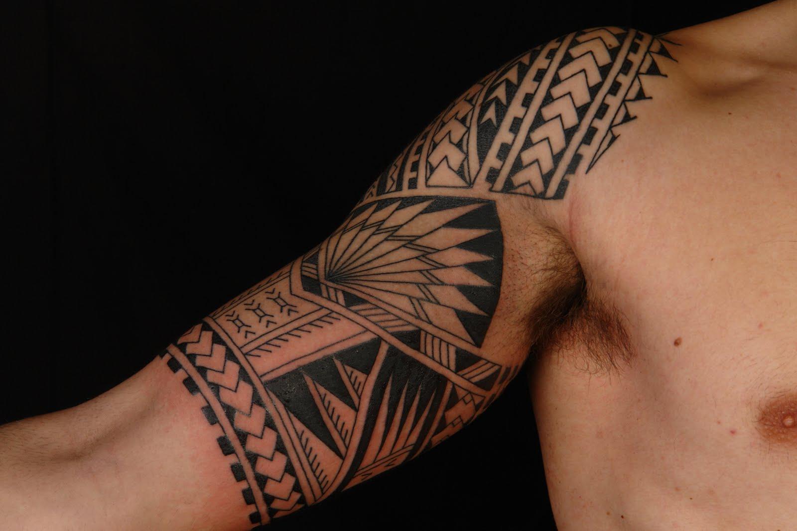 Tattoo Design Bild: Heritage Tattoo: Polynesian Tattoo