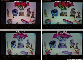scena ripresa con le telecamere e visualizzata a monitor