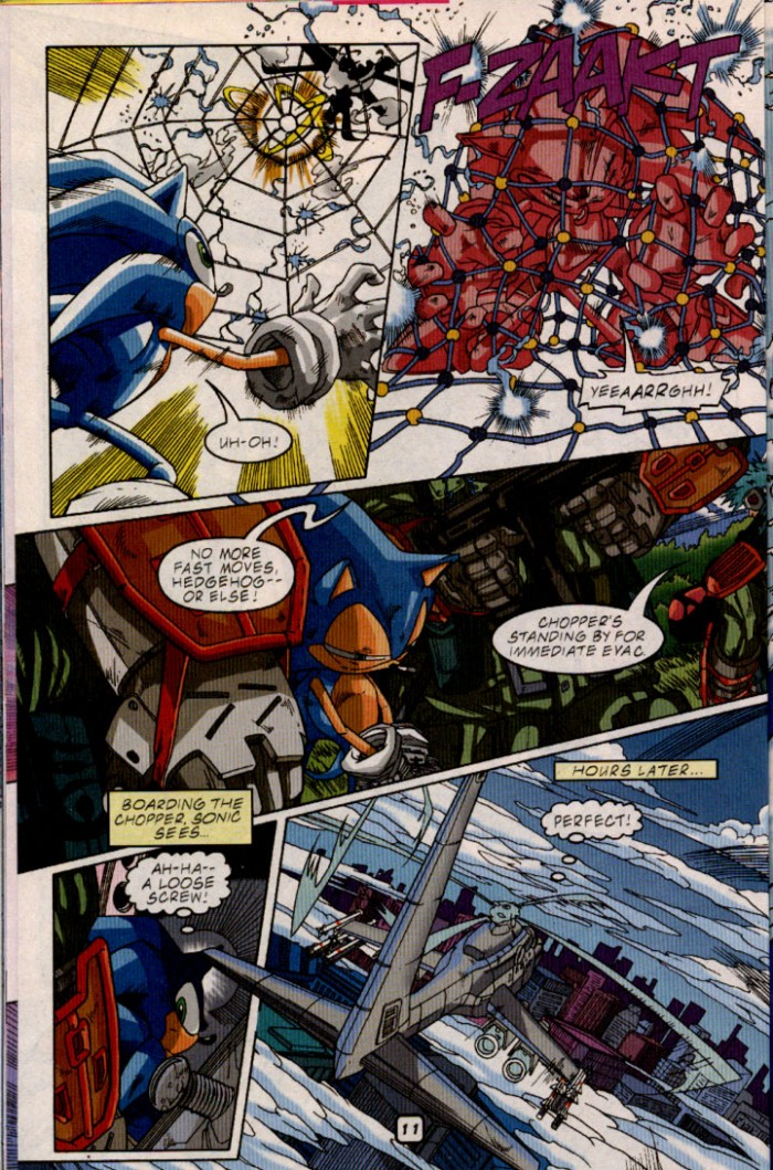 Read online Sonic The Hedgehog comic -  Issue #98 - 13