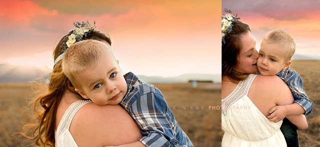 mommy & me, Colorado Springs, Maternity, 80925, Pikes Peak, Colorado Springs Airport, Family Session, Newborn, Denver, Sunset, Golden Hour, Curley Hair