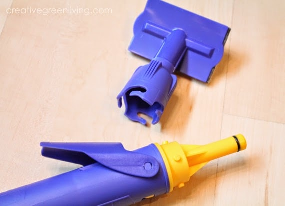 Ceiling painting tools - edge painter for cutting in with paint on a wall or ceiling