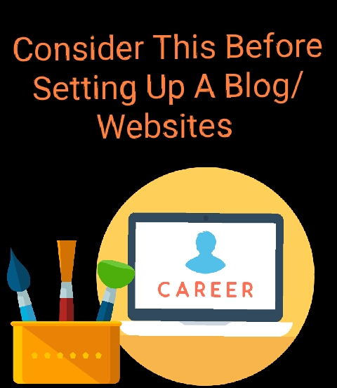 Consider This Before Setting Up A Blog/Websites