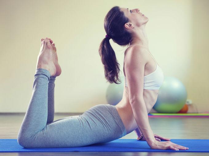 Posturas De Yoga Para Adelgazar 2