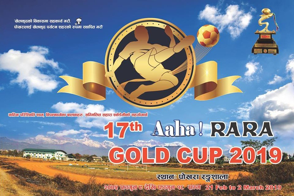 Watch live Three Star Club vs Tribhuwan Army Club in the finals of Aaha Rara Gold Cup 2075