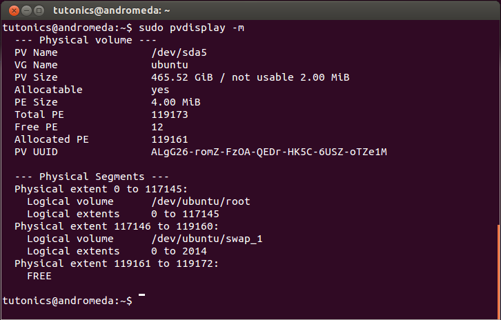 Ubuntu LVM Guide - Part 1 - Tutonics