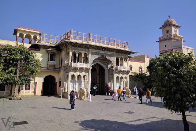 Gateways though the City Palace