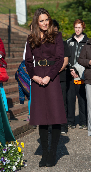 Kate Middleton visits Elswick Park where she visited a community garden in Newcastle Upon Tyne