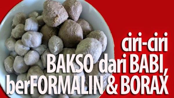 CIRI-CIRI BAKSO BABI