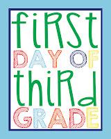 Third Grade Printable