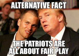 #fairplay #tombrady #donaldtrump.- alternative fact the patriots are all about fair play