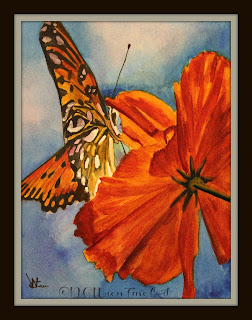 butterfly monarch bloom flower 30in30 ncwren