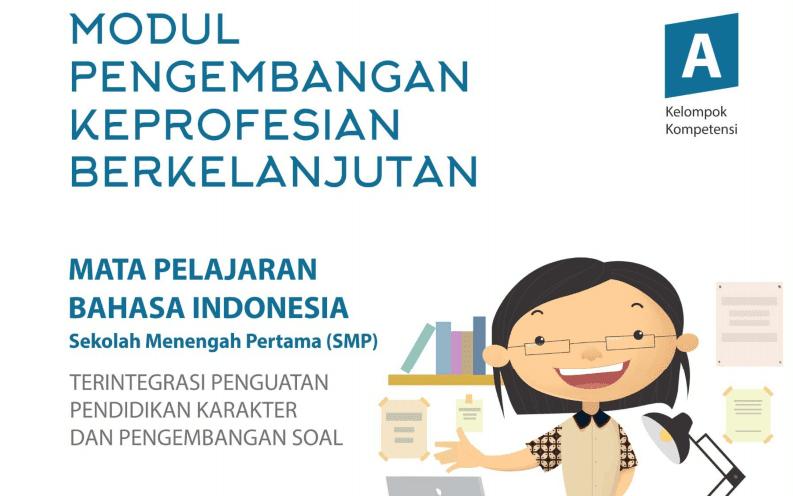 Download Modul PKB Basaha Indonesia SMP Revisi Tahun 2017