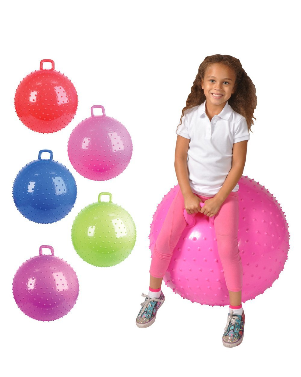 Bouncy Bouncy Bounce Bouncing Balls With Handles For