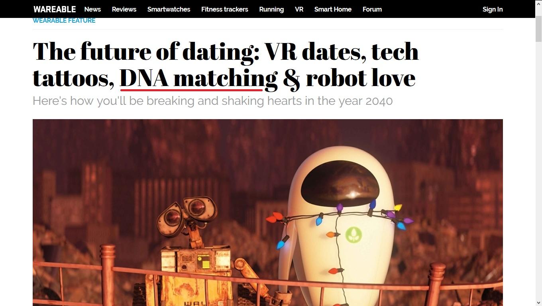 dating website dna