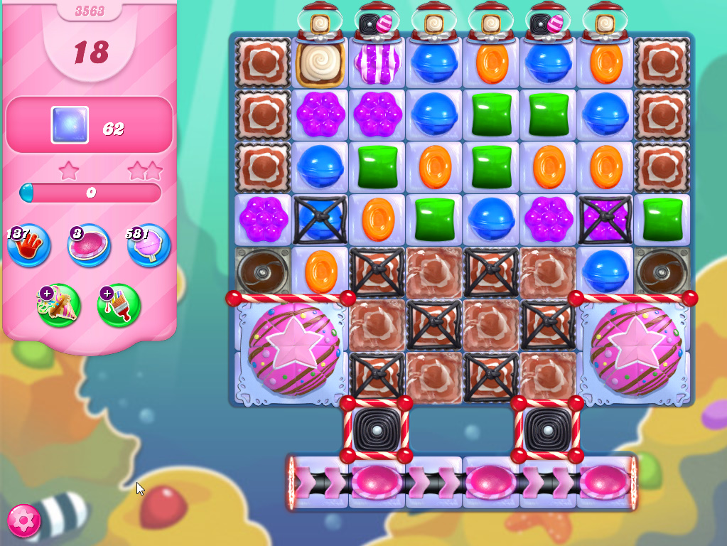 Candy Crush Saga level 3563