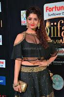 Ritika Singh in a Ethnic Deep Neck Dark Green Choli Ghagra at IIFA Utsavam Awards March 2017 ~ 019.JPG