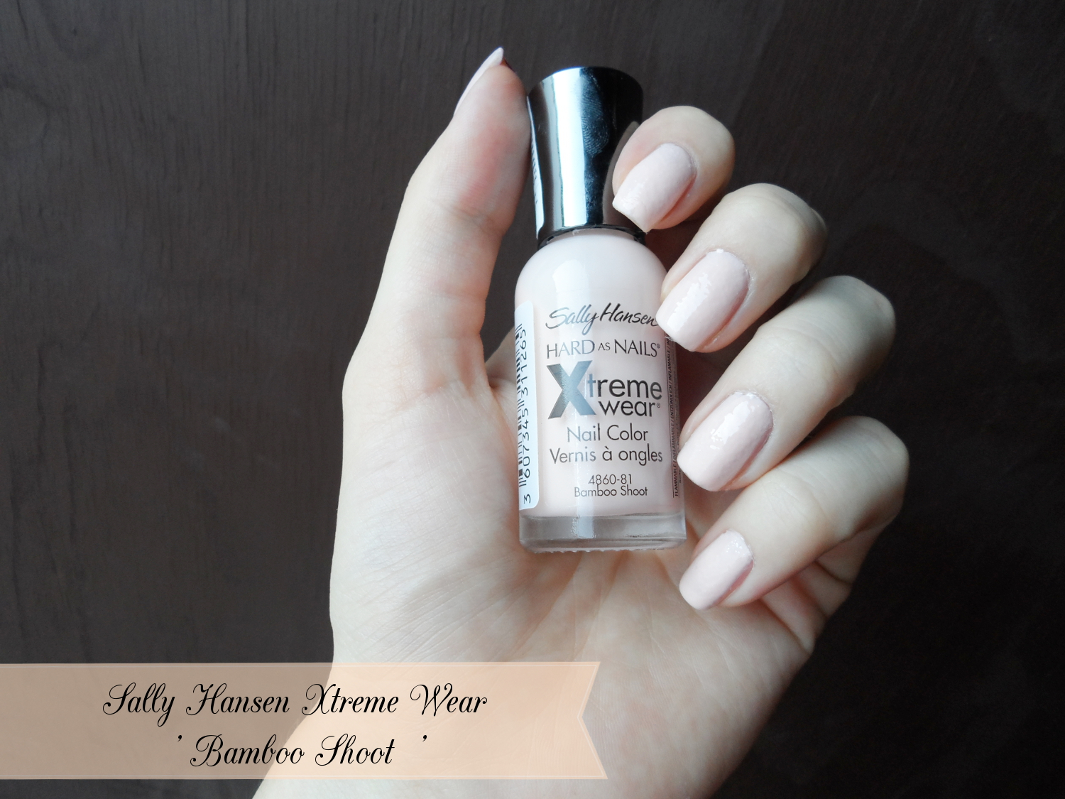Sally Hansen Xtreme Wear In Bamboo Shoot Review Amp Swatches